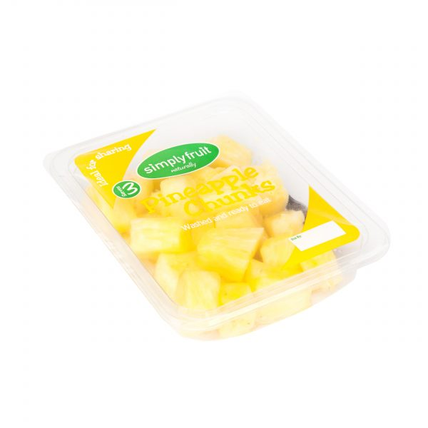 Health Simplyfruit Fresh Juicy Pineapple Chunks