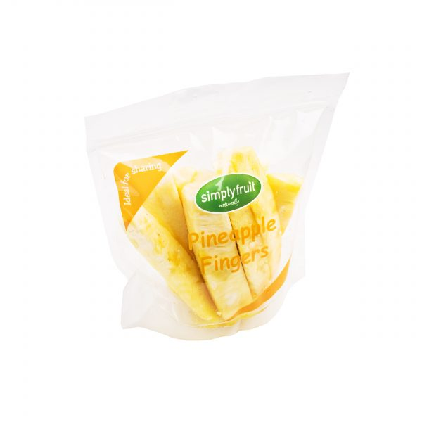 Simplyfruit Healthy 500g share resealable pineapple fridge pack